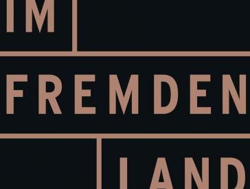 Cover der Broschüre <cite>Im fremden Land</cite>