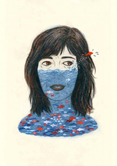 Selbstporträt Ofra Amit