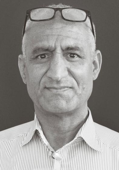 Portrait des Künstlers Ayub Shekan