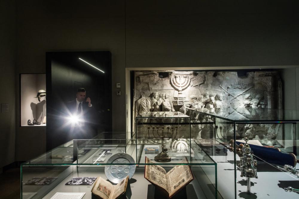 Innenansicht eines Ausstellungsraums der Ausstellung