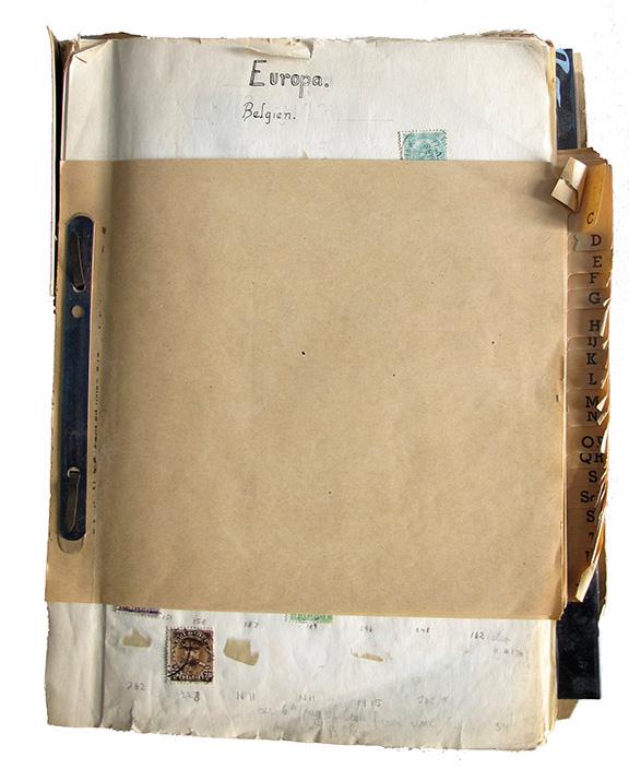Eine geheftete Blättersammlung, auf dem ersten Blatt sind die Überschrift