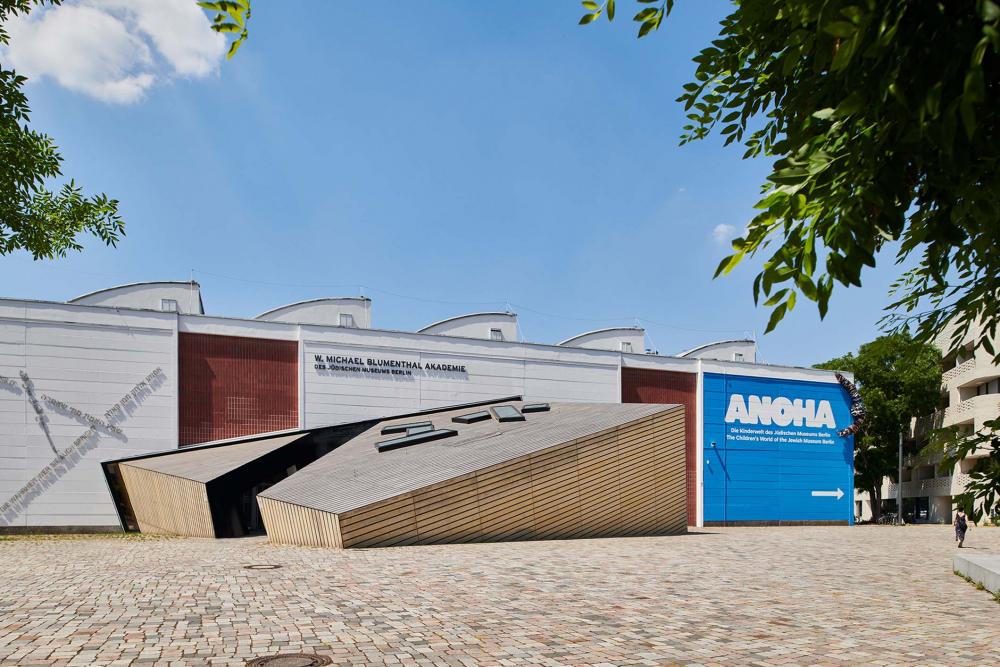 Außenansicht Akademiegebäude des Jüdischen Museums Berlin