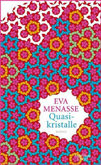 Book cover Quasikristalle, novel
