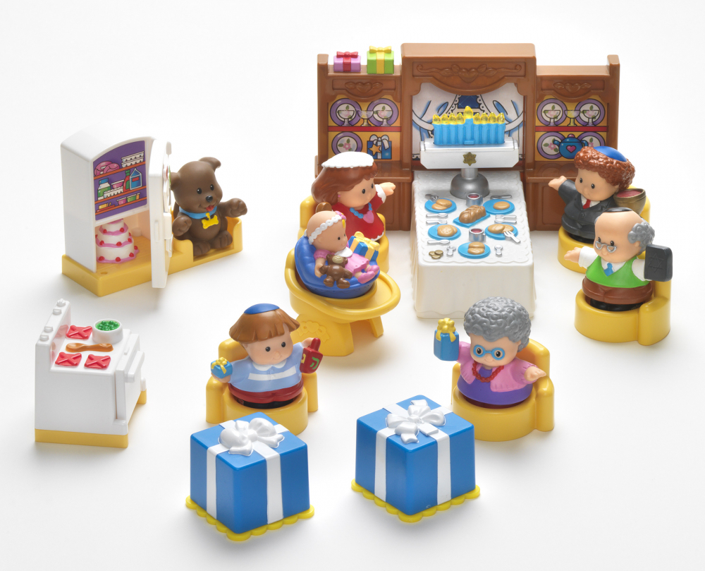 Hanukkah-themed toys