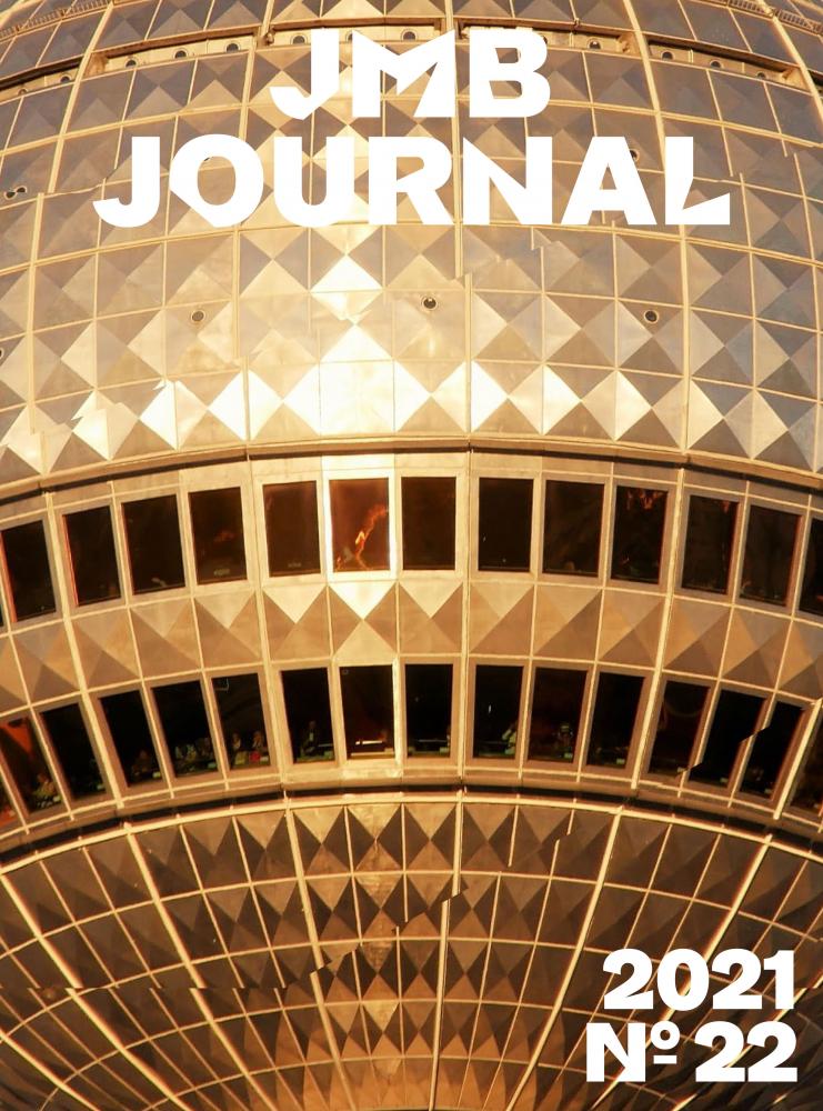 Cover des JMB Journals Nummer 22