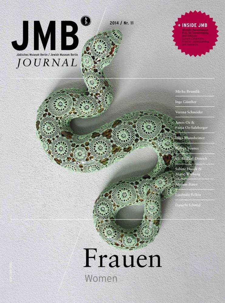 Cover Journal 11 mit einer Schlange in Häkeloptik