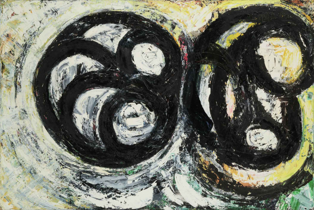 Louise Fishmans painting <cite>Golem</cite>