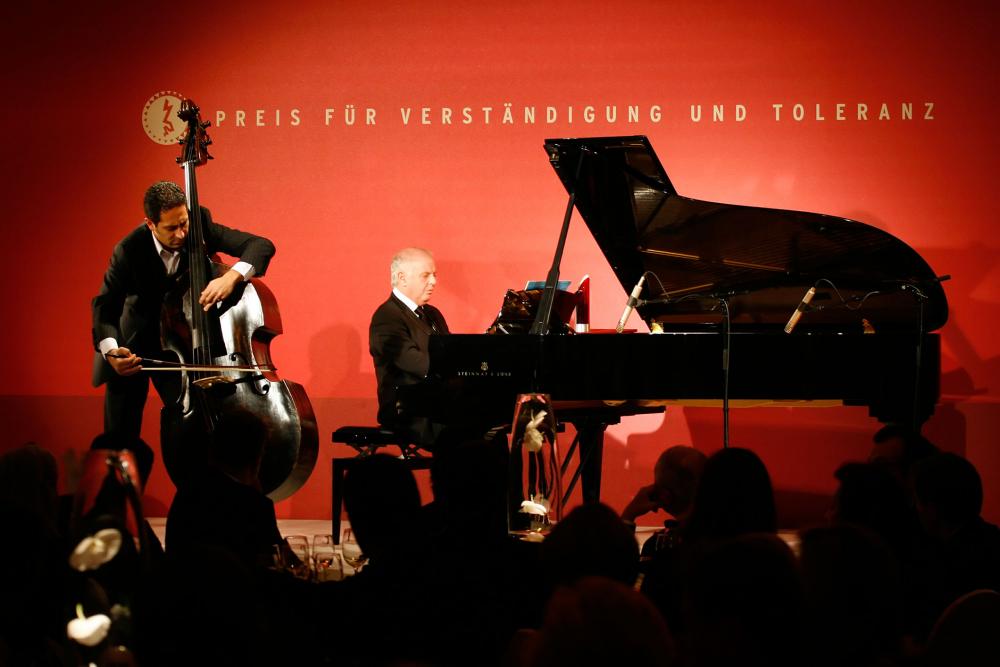 Jubiläumsdinner 2006: Konzert mit Daniel Barenboim (Flügel) und Nabil Shehata (Kontrabass)