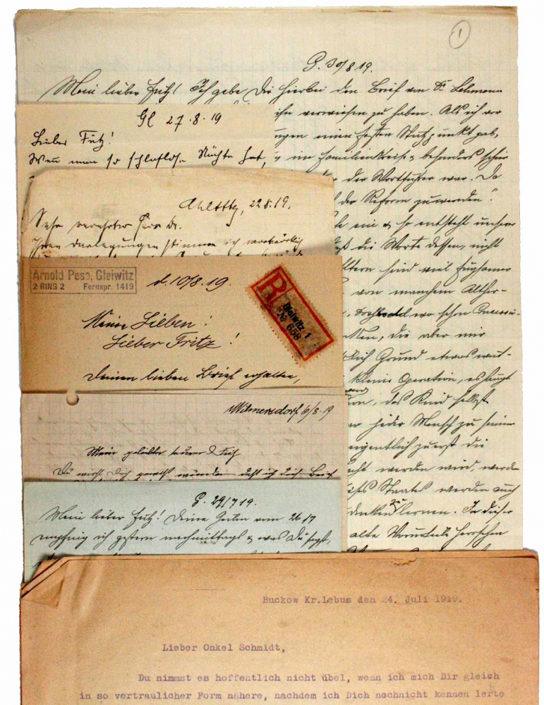 Letters from 1919
