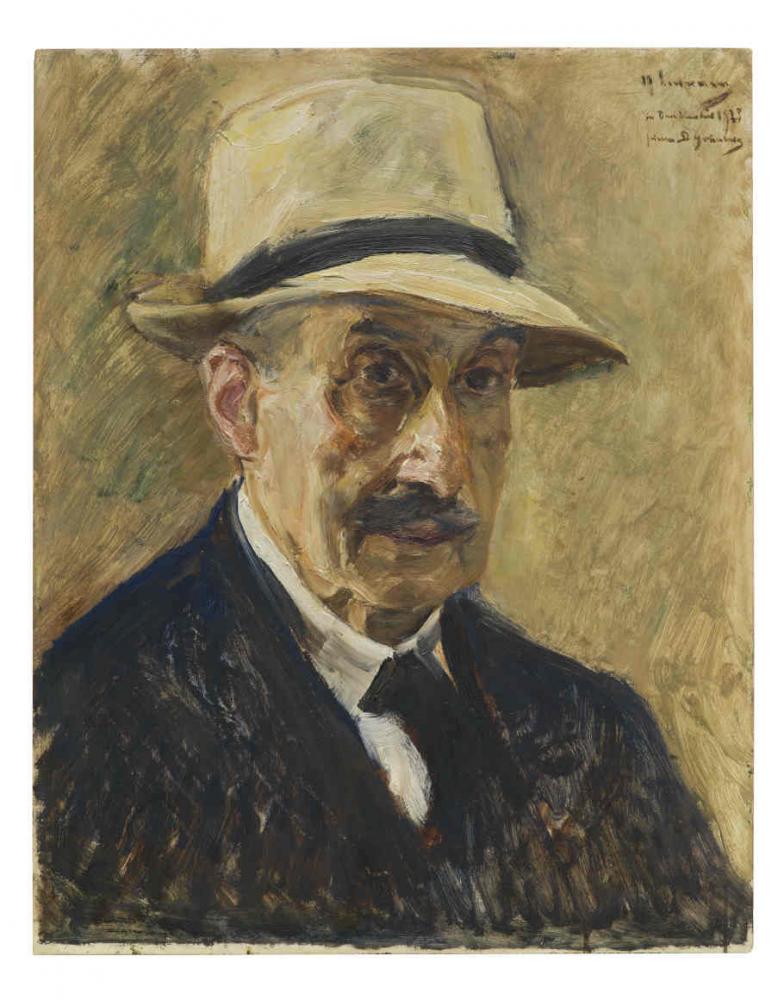 Portrait of Max Liebermann