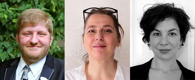 Konstanin Pal, Ruth Zeifert, and Lea Wohl von Haselberg