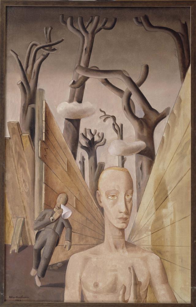 Painting: Felix Nussbaum, Loneliness