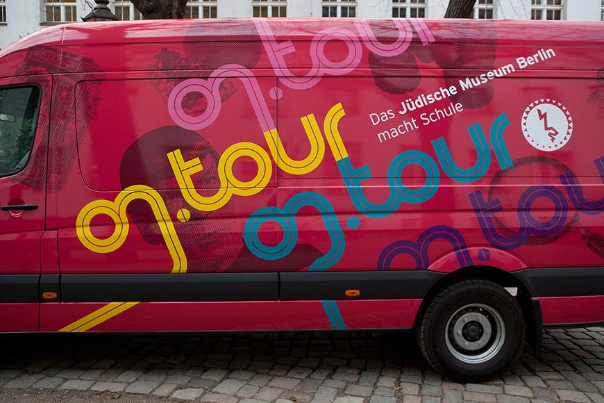 Ein on.tour-Bus