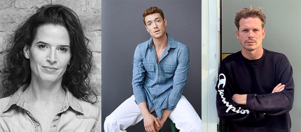 Collage von Porträtfotos der drei in der Bildunterschrift genannten Personen