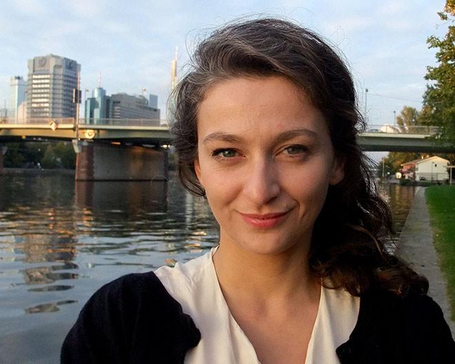 Portrait of Darja Klingenberg
