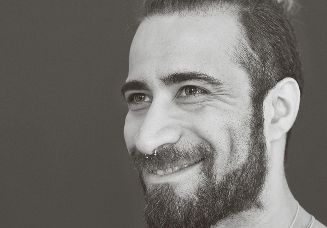 Portrait des Künstlers Hadi Taher