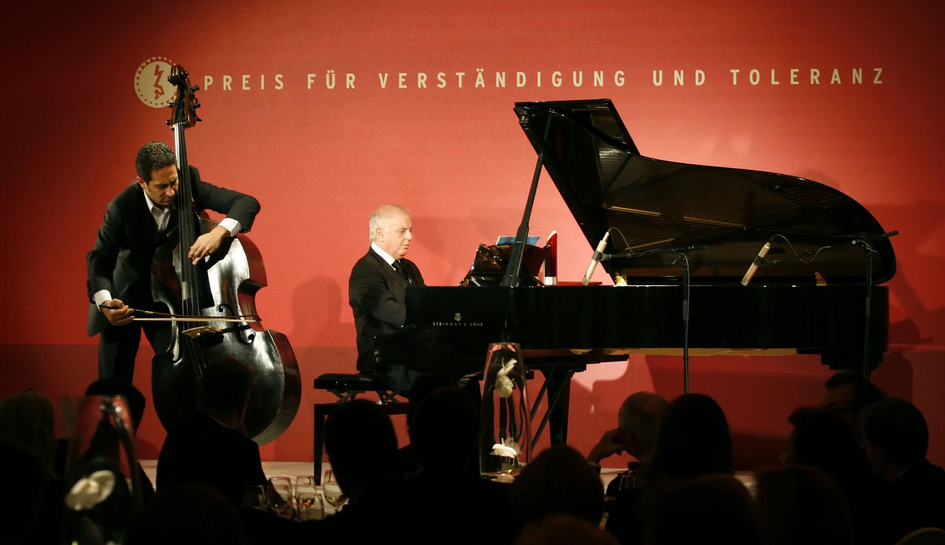 Galadinner 2006, Konzert mit Daniel Barenboim (Flügel) und Nabil Shehata (Kontrabass)