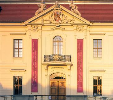 Tor am Altbau des Jüdischen Museums Berlin