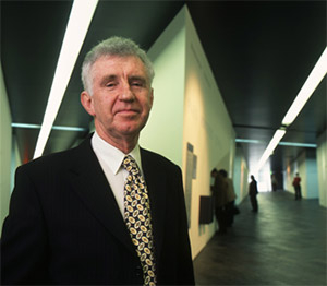 Photographic portrait of Ken Gorbey