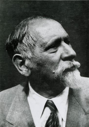 Leo Baerwald, Schwarz-Weiß-Fotografie im Halbprofil