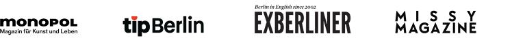 Logos: monopol, tipBerlin, EXBERLINER, Missy Magazin