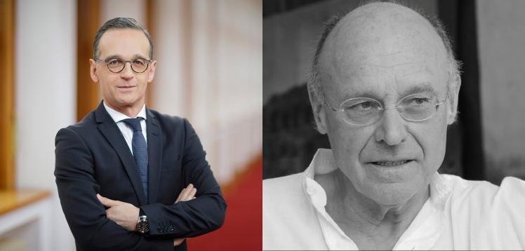 Heiko Maas und Anselm Kiefer