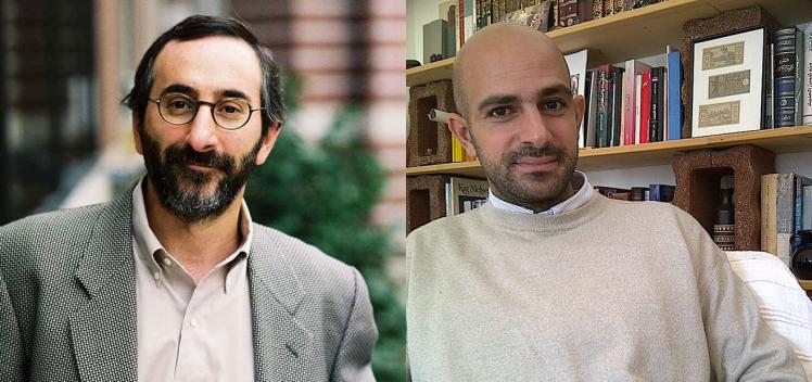 Porträts Benjamin Sommer und Ghassan el Masri