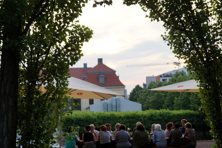 Summer Cooking Class in the garden of the Jewish Museum Berlin