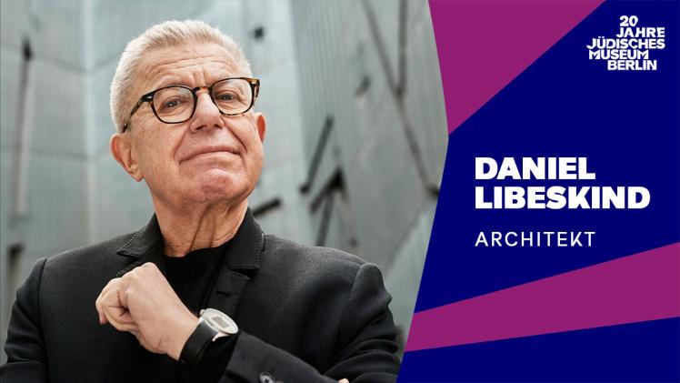 Porträtfoto von Daniel Libeskind