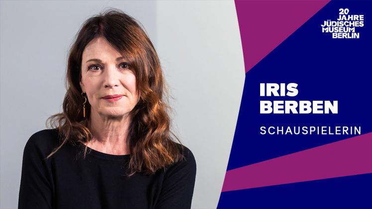 Porträtfoto von Iris Berben