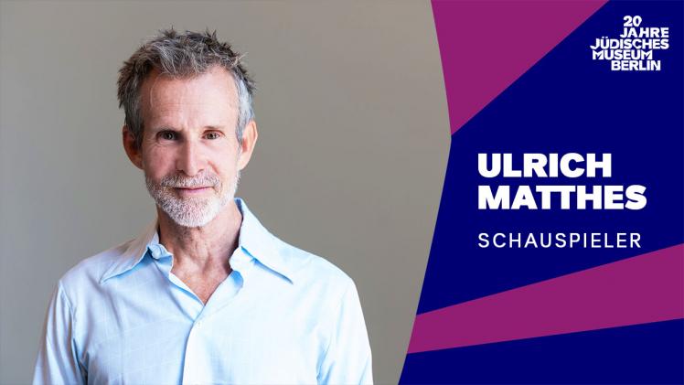 Porträtfoto von Ulrich Matthes