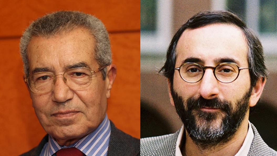 Abdelmajid Charfi und Benjamin Sommer