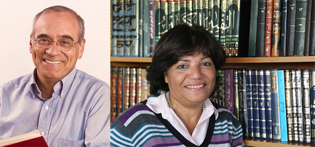 Portrait of Israel Yuval and Maha El-Kaisy-Friemuth