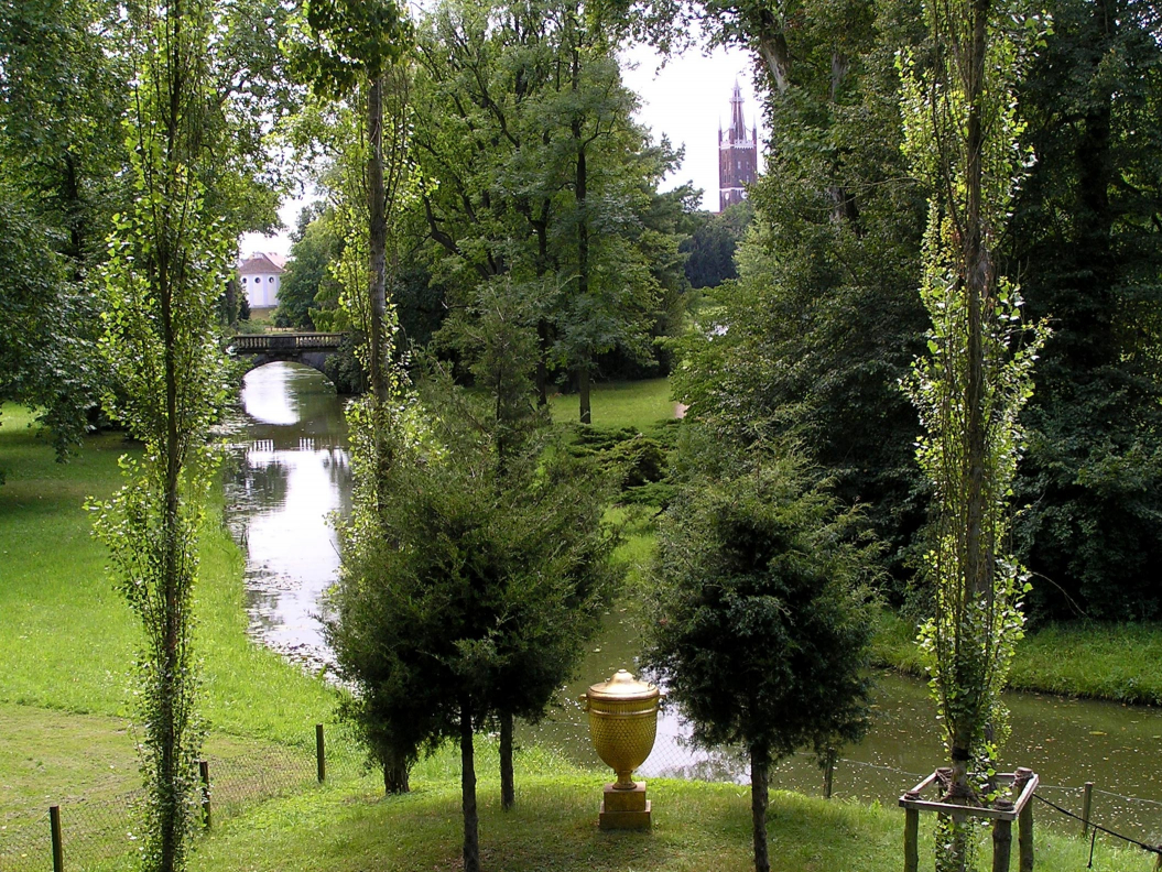 View of the Wörlitz Garden Realm