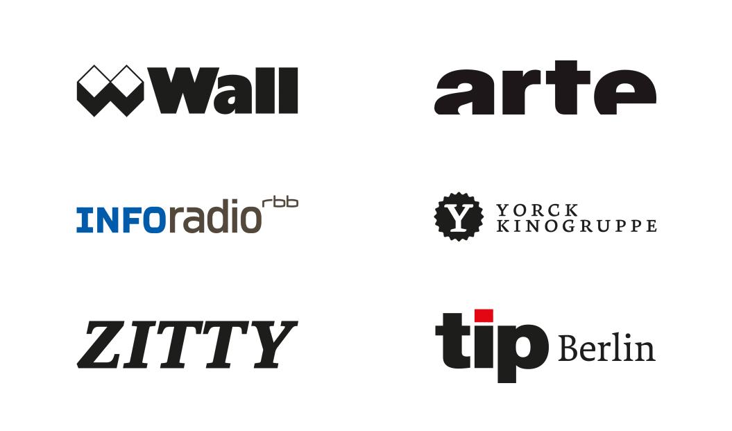 WALL, arte, INFOradio, Yorck Kinogruppe, zitty, tip Berlin