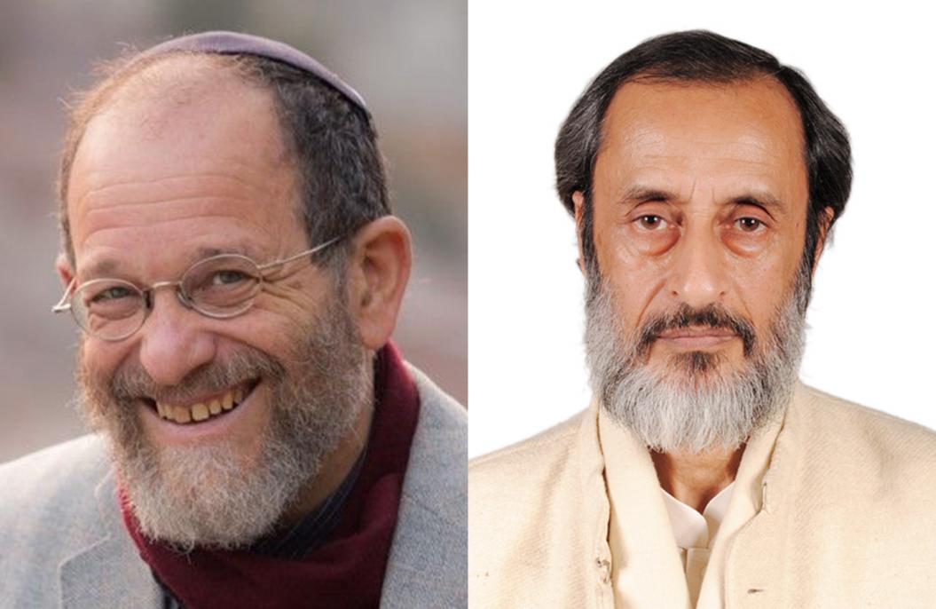 Portrait of Alon Goshen-Gottstein and Muhammad Suhely Umar