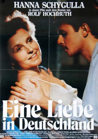 Filmplakat »Eine Liebe in Deutschland«