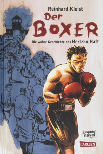 Cover of the Graphic Novel »The Boxer« by Reinhard Kleist