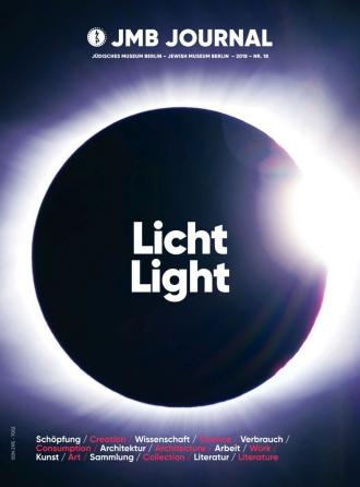 Cover JMB Journal Nr. 18: Licht