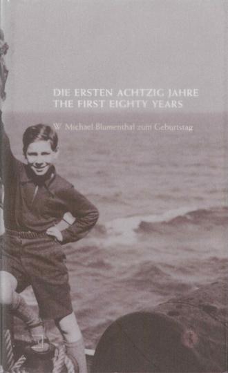 """Cover """"Die ersten Achtzig Jahre"""""""