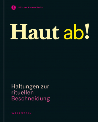 "Catalogue Cover for the Exhibition ""Haut ab!"" or ""Snip it!"" in english"