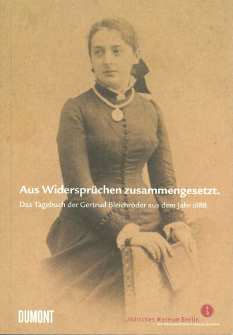 "Book Cover of ""Bleichröder"": historical photograph of a black and white portrait of a woman"