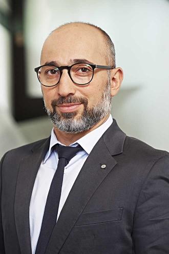 Portrait in suit