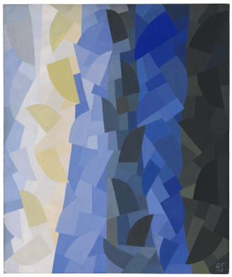 Painting: Composition by Otto Freundlich