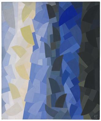 Gemälde: Otto Freundlich, Komposition