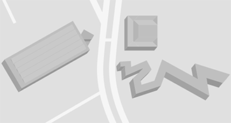 Map of the Museum's buildings