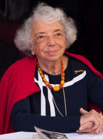 Portrait of Margot Friedländer