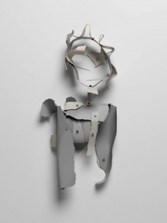 David Musgrave's artwork <cite>Machinic figure</cite>