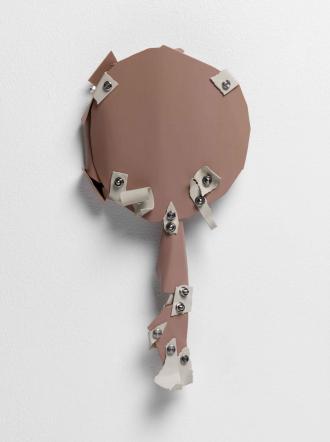 David Musgrave's artwork <cite>Paper Golem number five</cite>