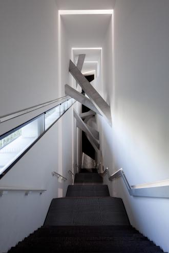 Sackler Treppe im Libeskind-Bau